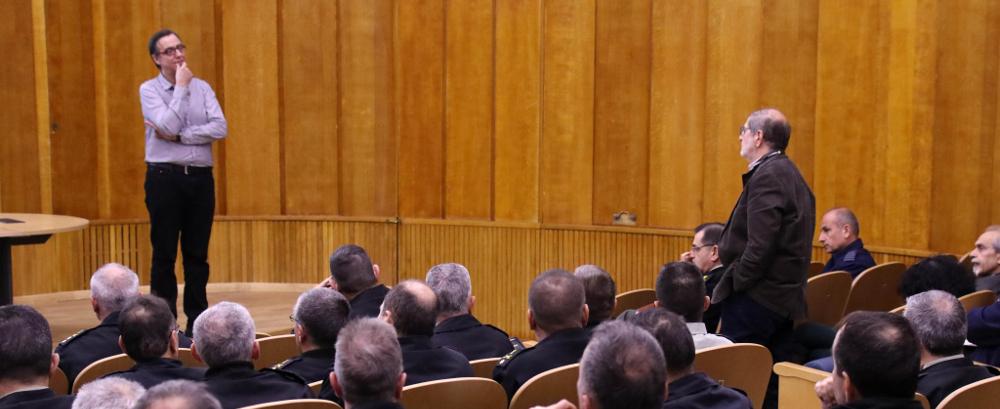Ομιλία στο ΓΕΣ με Θέμα «Ψηφιακή Διακυβέρνηση και Διαλειτουργικότητα: η Περίπτωση της Εθνικής Άμυνας», από τον Δρ Ιωάννη Χαραλαμπίδη