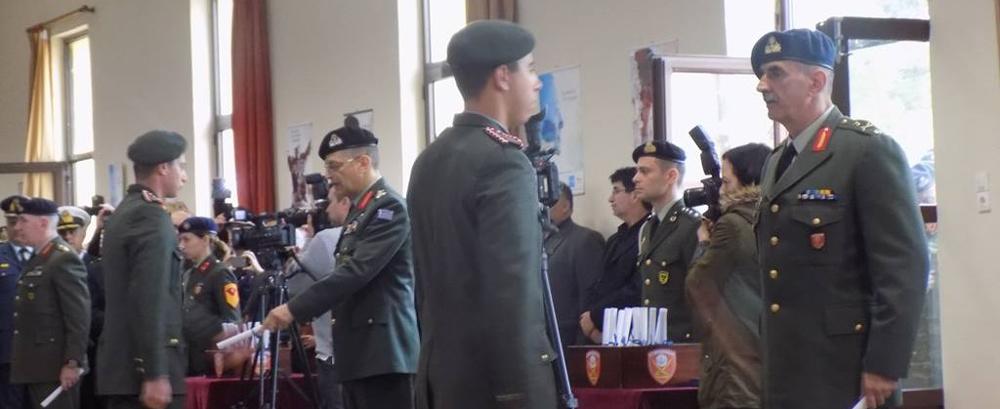 Παρουσία Αρχηγού ΓΕΣ στην Τελετή Ονομασίας ΔΕΑ της 2018 Δ΄ ΕΣΣΟ στη ΣΕΑΠ