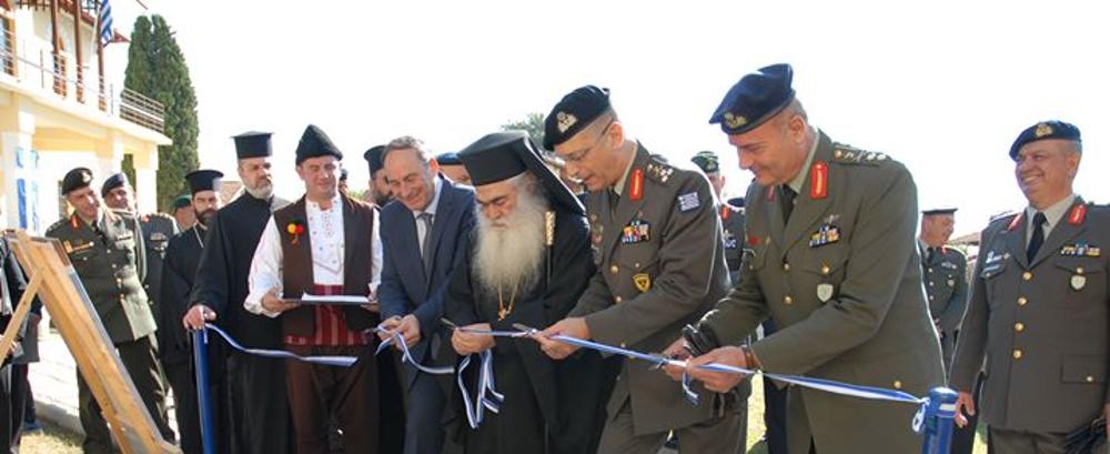 Τέλεση Εγκαινίων από τον Αρχηγό ΓΕΣ, στο Στρατιωτικό Μουσείο Βαλκανικών Πολέμων