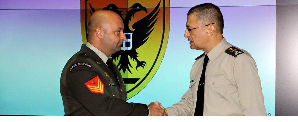 Βράβευση Προσωπικού του Στρατού Ξηράς