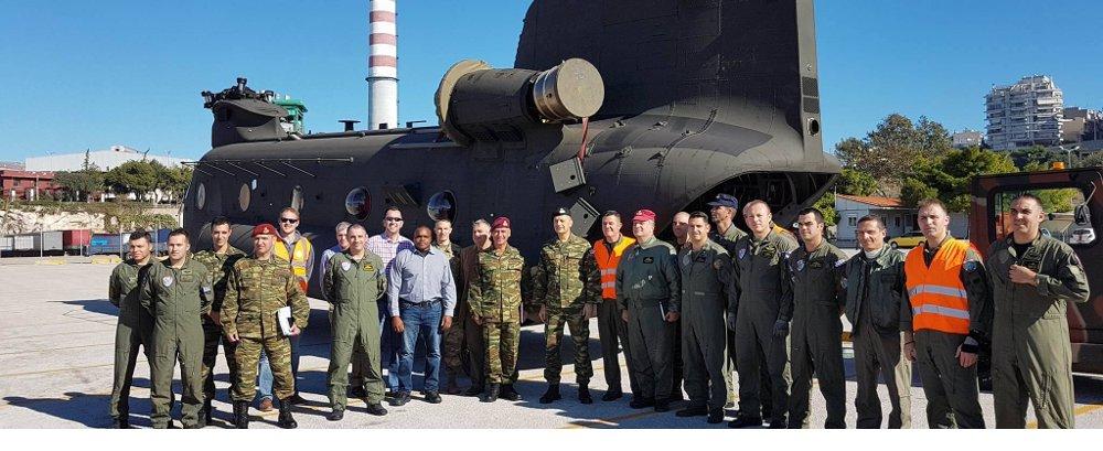 Άφιξη στην Ελλάδα 3 Ελικοπτέρων CH-47D Chinook στο Πλαίσιο Υλοποίησης Σχετικής LOA