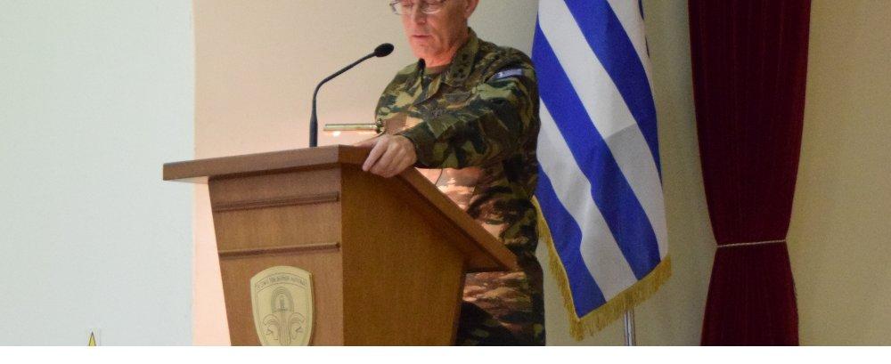 Επίσκεψη Αρχηγού Γενικού Επιτελείου Στρατού στην Περιοχή Ευθύνης του Δ΄ΣΣ